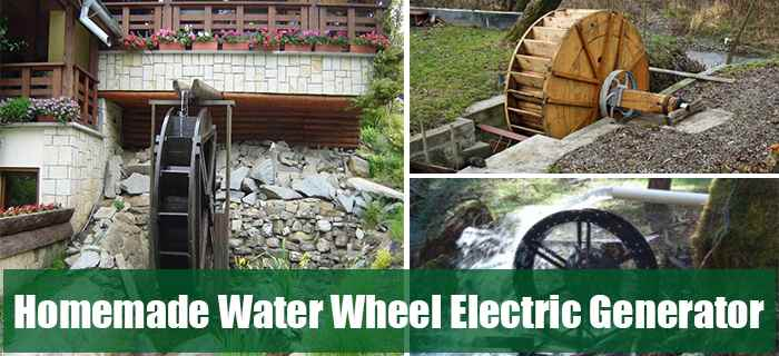 Homemade Water Wheel Electric Generator Ask A Prepper