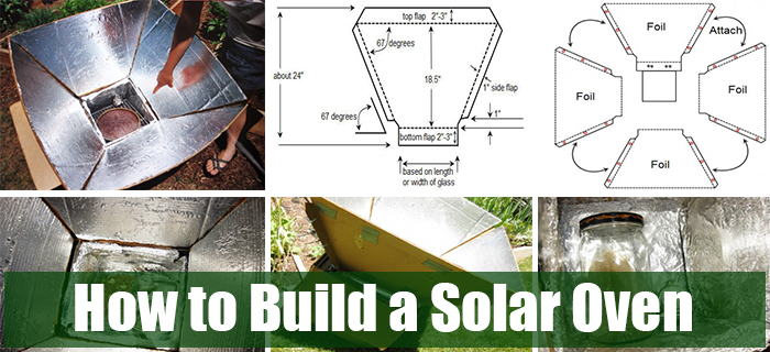 How to build a solar oven ask a prepper for How to build a solar oven for kids