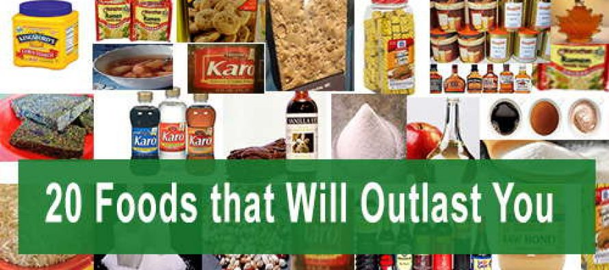20 Foods that Will Outlast You