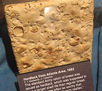 Hardtack from 1862
