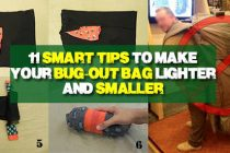 11 Smart Tips to Make Your Bug-Out Bag Lighter and Smaller