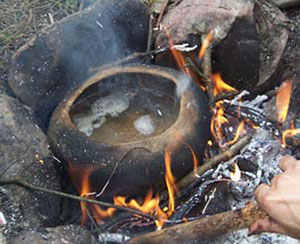 Clay Cooking primitive