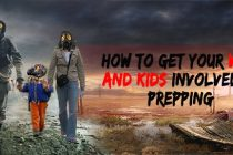 How to Get Your Wife and Kids Involved in Prepping