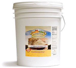 Oatmeal 5 gallon bucket