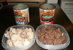 Keystone canned meats