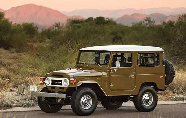 Toyota Land Cruiser J40