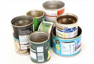 Recycle canned food