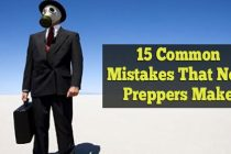 15 Common Mistakes That New Preppers Make