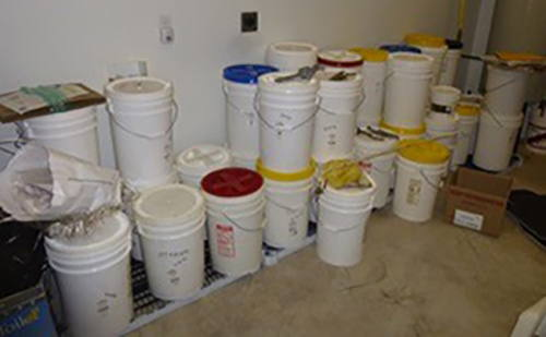 basement nitrogen storage