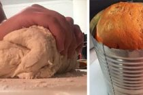 How to Make Homemade Bread in a Can