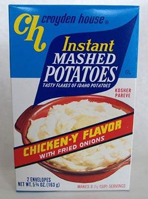 Instant Rice and Mashed Potatoes