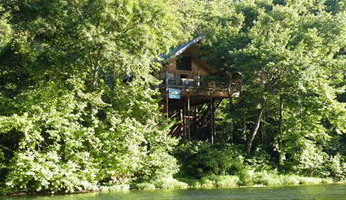 Charmant ... As Well As The Fact That Missouri Gets 41 Inches Of Rain Every Year On  Average, This State Seems Like An Off The Grid Paradise! Missouri Cabin