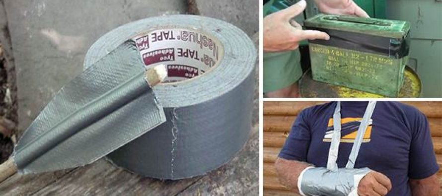 26 Practical Survival Uses for Duct Tape