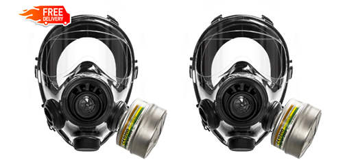 gas mask for preppers