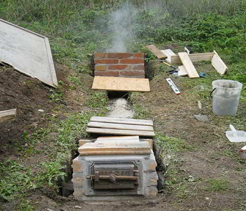 Image Result For How To Build A Fire Pit Out Of Bricksa