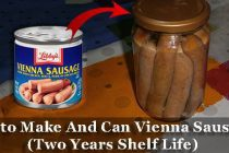 How to Make And Can Vienna Sausages (2 Years Shelf Life)