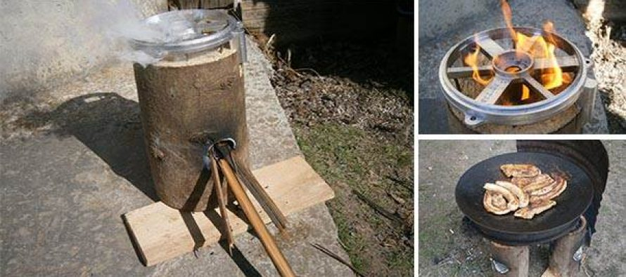 How To Make A Cool Rocket Stove For Free Ask A Prepper
