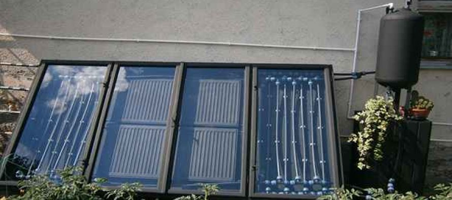 How To Make Your Own Solar Water Heater