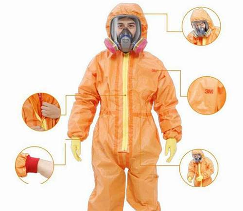 nuclear protective clothing