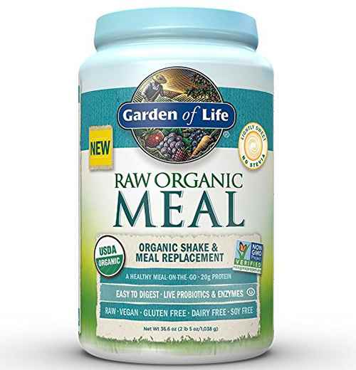 raw organic protein meal