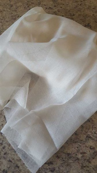 keep bugs away cheesecloth