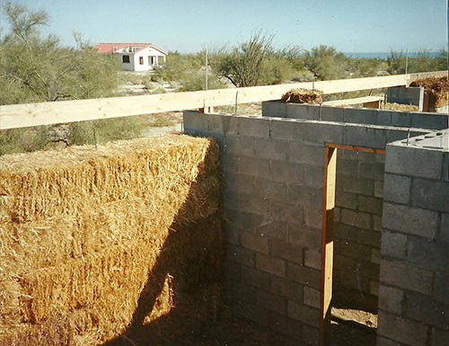 Strawbale Bug Out House 4