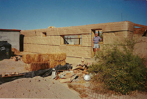 Strawbale Bug Out House 6