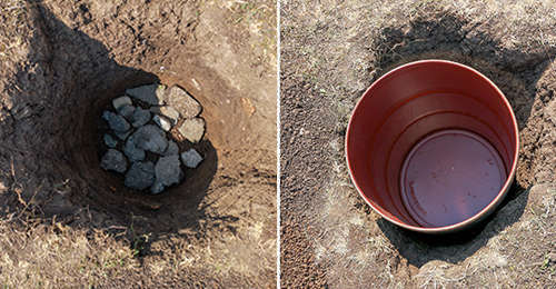 how to make a mini root cellar in your backyard in less than two