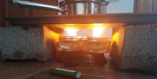 How To Heat Your Room With Vegetable Oil