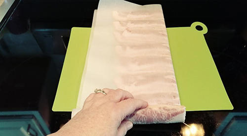 Strange and effective way to store bacon for 15+ years