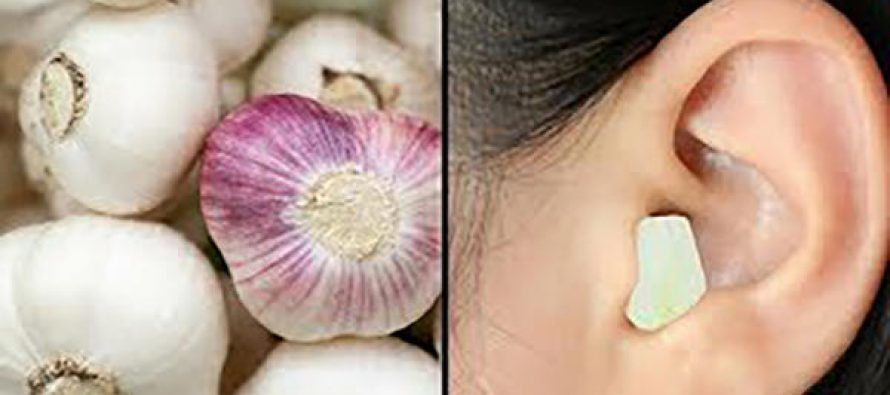 Why You Should Put Garlic in Your Ear