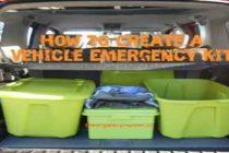 How to Create a Vehicle Emergency Kit