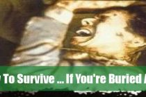How to Survive If You're Buried Alive