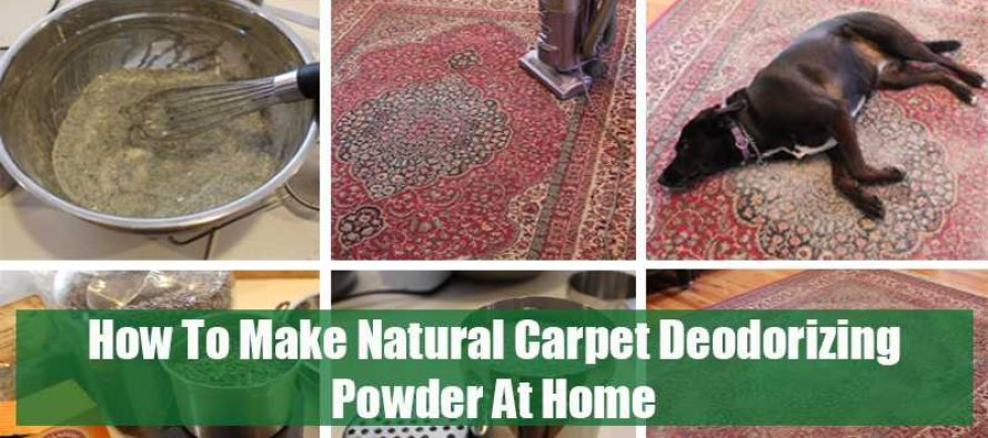 How To Make Natural Carpet Deodorizing Powder At Home