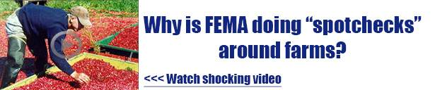 why is fema doing spotchecks around farms