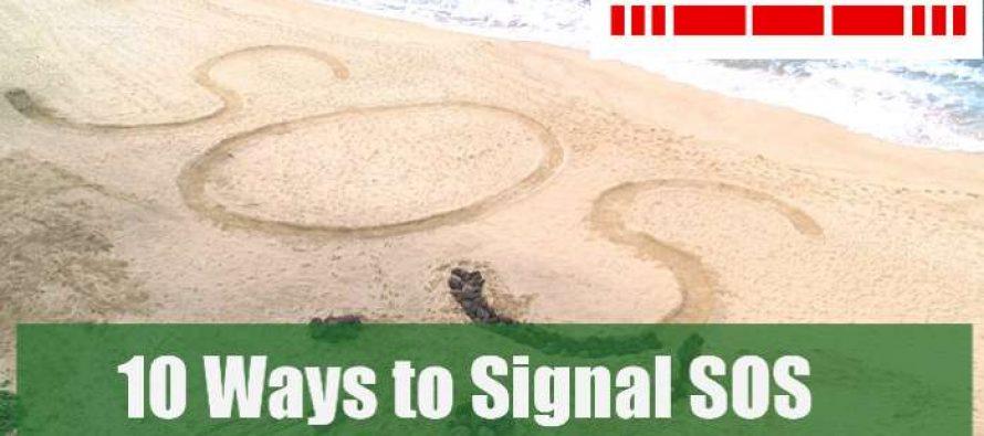 10 Ways to signal SOS