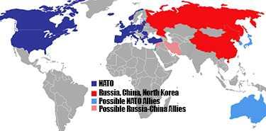 WW3 NATO vs Russia-China