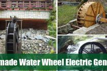 Homemade Water Wheel Electric Generator