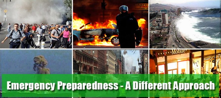 Emergency Preparedness – A Different Approach