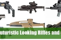 Futuristic Looking Rifles and Guns