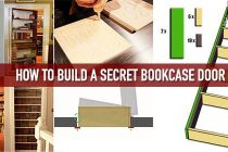How to Build a Secret Bookcase Door