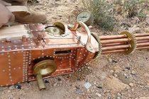Homemade .22 Cal Steampunk Gatling Gun