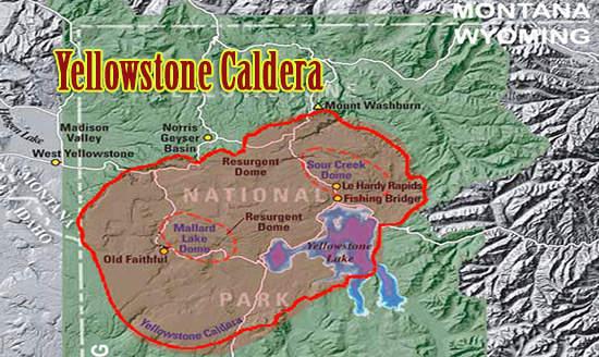 yellowstone caldera