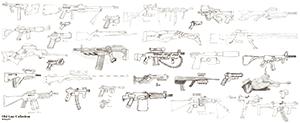 a lot of guns
