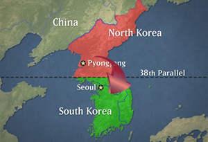 north korea south korea attack