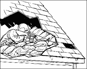 sniper hideout roof