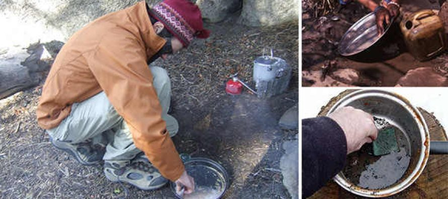 How to Clean Cooking Gear with Wood Ash