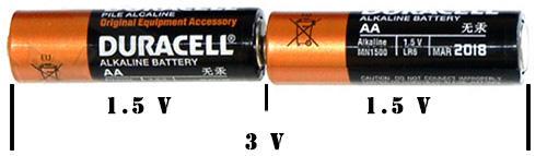 aa bateries series