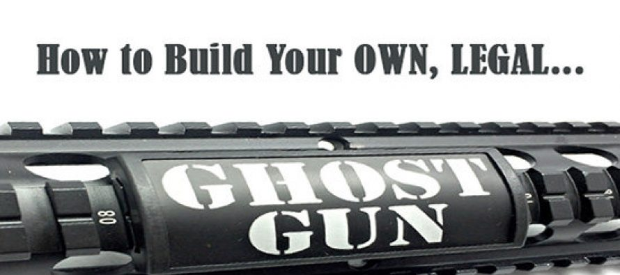 How to Build Your Own Ghost Gun