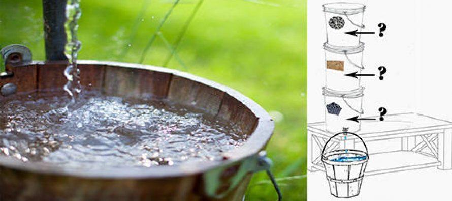 Building The Three Bucket Bio-Water-Filter